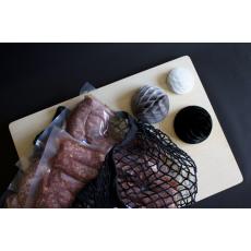 Saucisses de Cochon au piment d'Espelette
