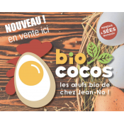Oeuf Bio Fermier des bords du Perche